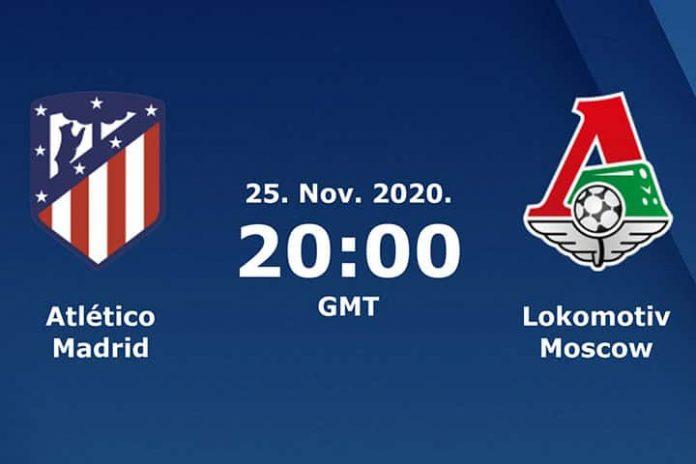 Prediction - Atletico Madrid Vs Lokomotiv Moscow - Champions League