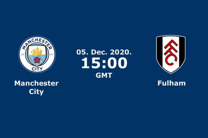 Premier League Match Prediction - Manchester City VS Fulham